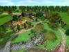 Ландшафтний дизайн, 3-D візуалізація панорама, Гореничі