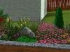 Ландшафтний дизайн, 3-D візуалізація квітника