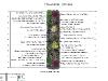 Ландшафтне проектування, план квітника