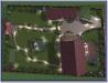 Ландшафтний дизайн, 3-D візуалізація вид зверху, Гуровщина 2