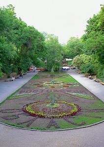 Озеленение улиц и парков